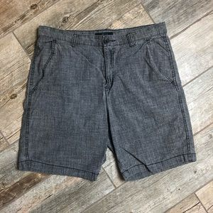 Marc Anthony 33 Slim Fit Flat Front Grey Shorts